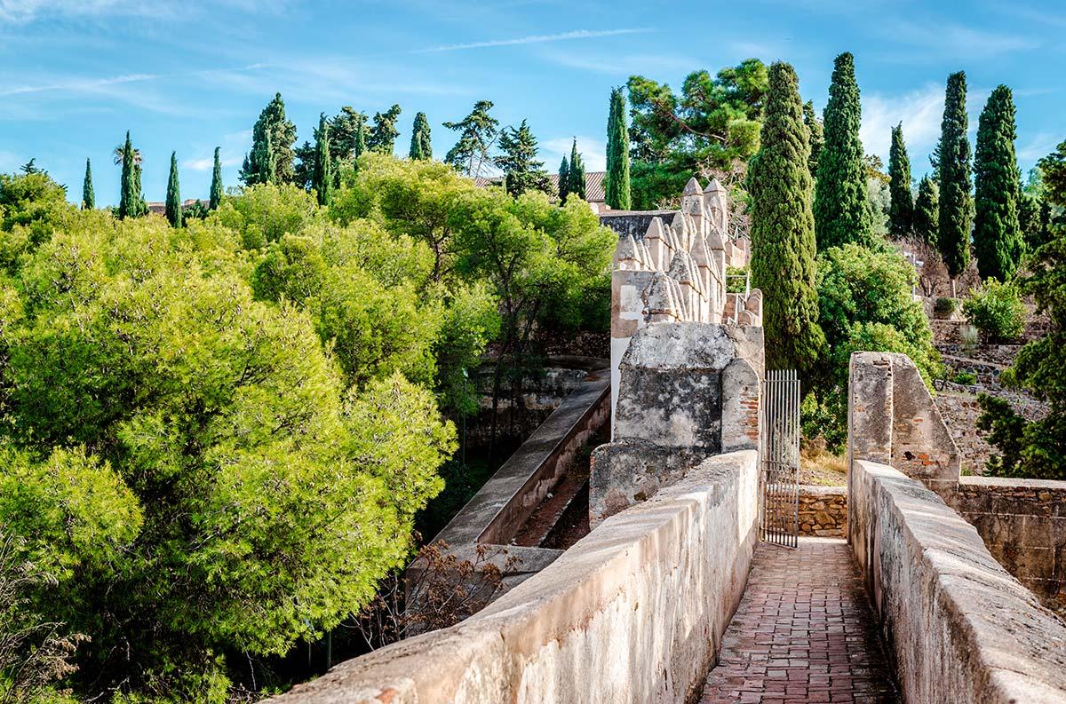 Gibralfaro fortress (Alcazaba de Malaga)